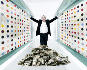 People Pay Damian Hirst Millions For Paintings Of dots... Why?