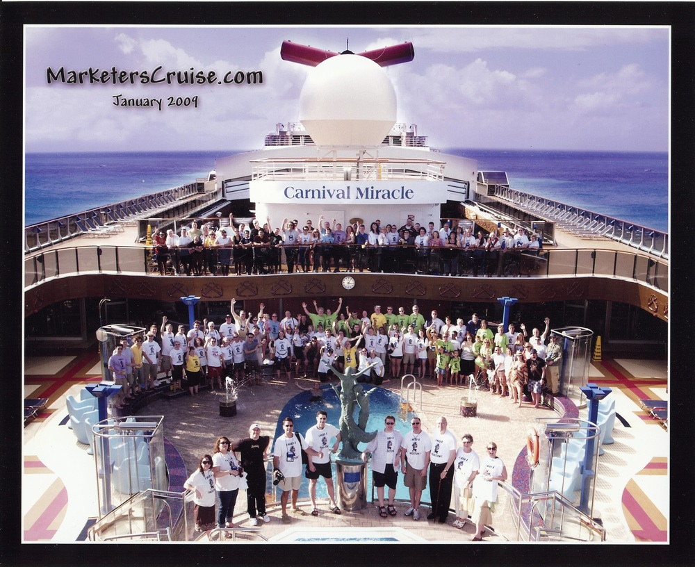 The internet marketers cruise