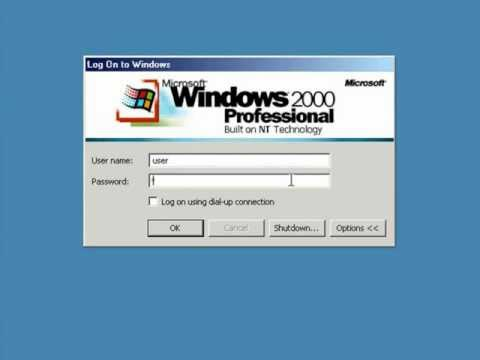 still using windows 2000? Time to join the 21st century!