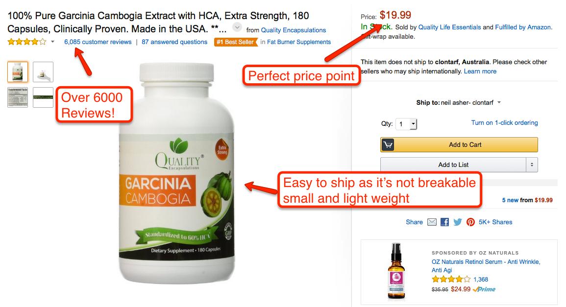 what to sell on Amazon australia