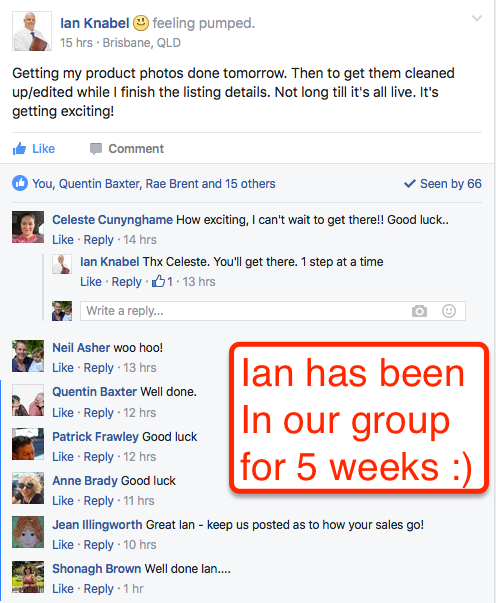Ian Is Now selling Online