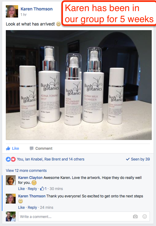 These are Karen's products she sells on online :)